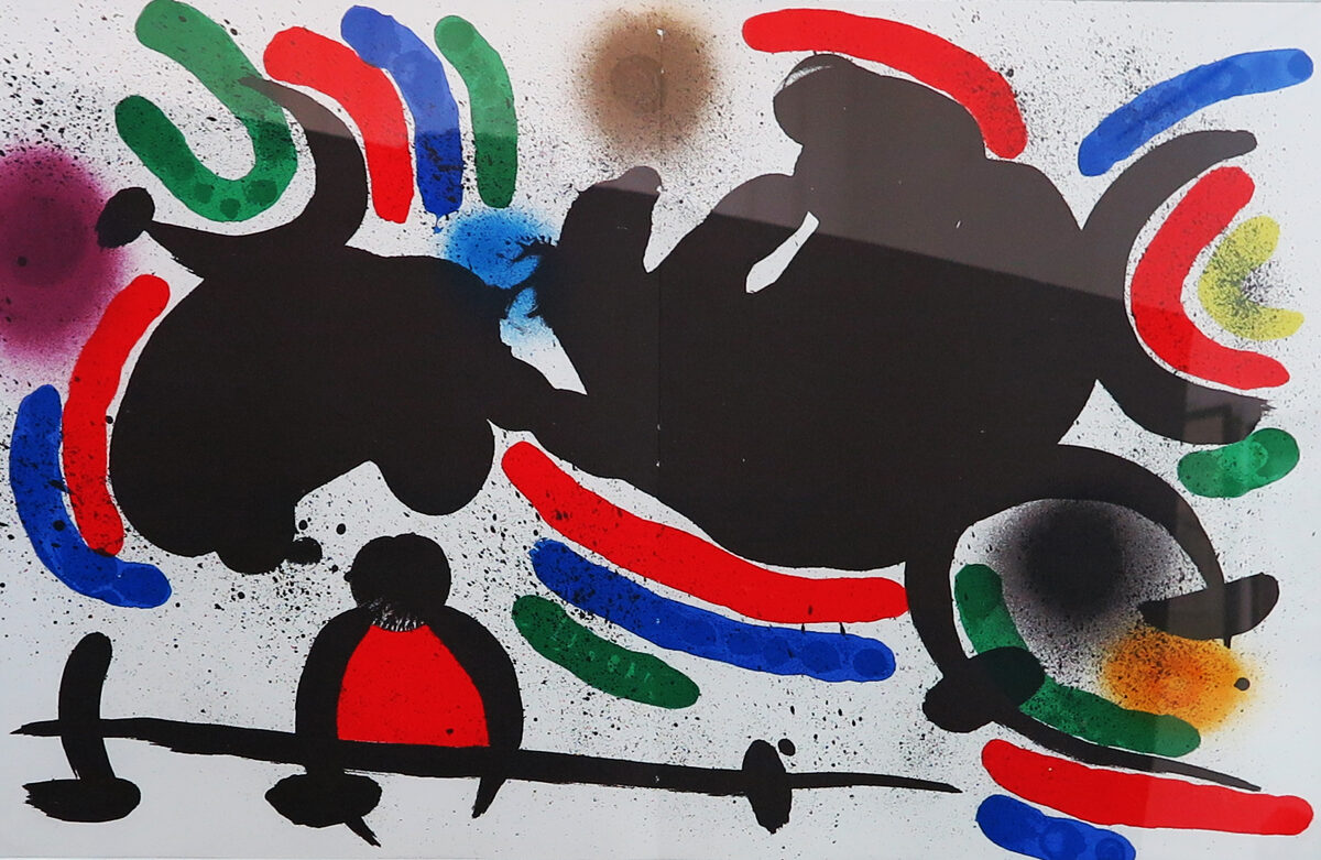 Joan Miró: Kompozice X