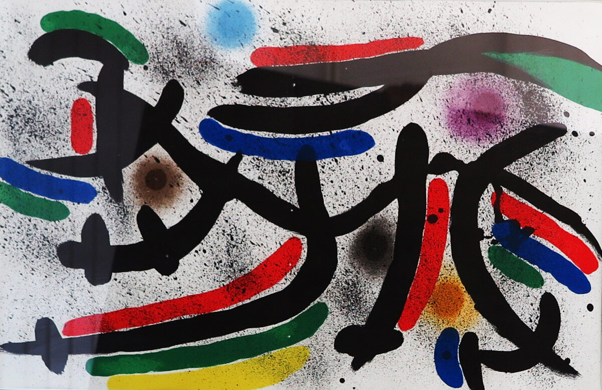 Joan Miró: Kompozice VIII