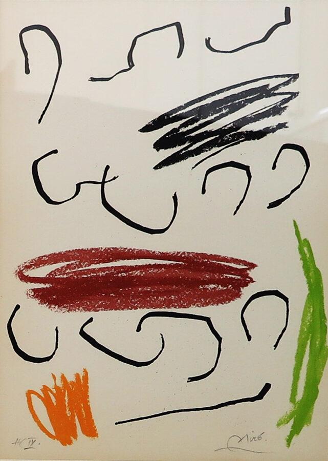 Joan Miró: Kompozice VII