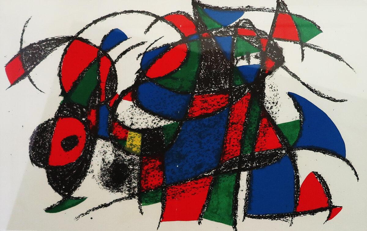 Joan Miró: Kompozice V