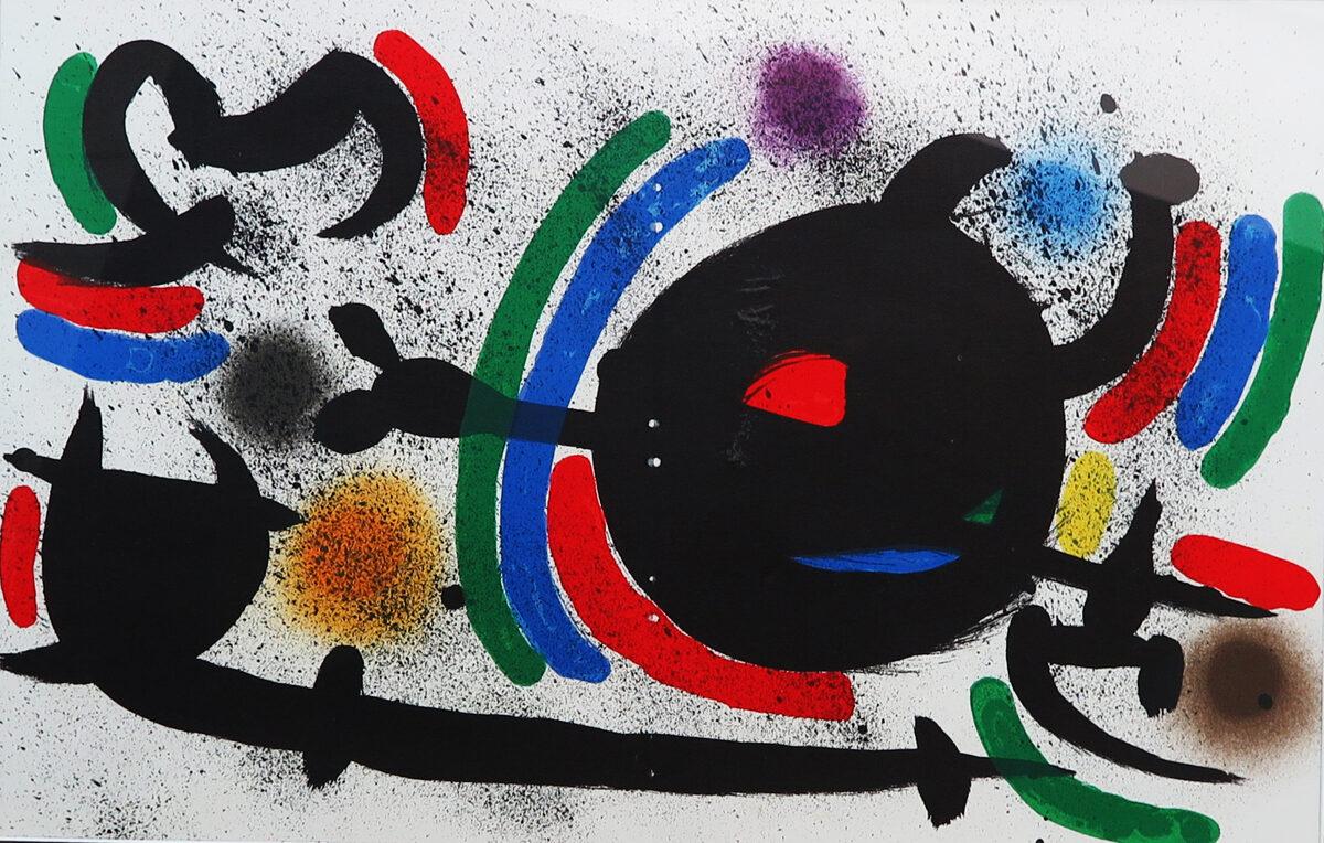 Joan Miró: Kompozice