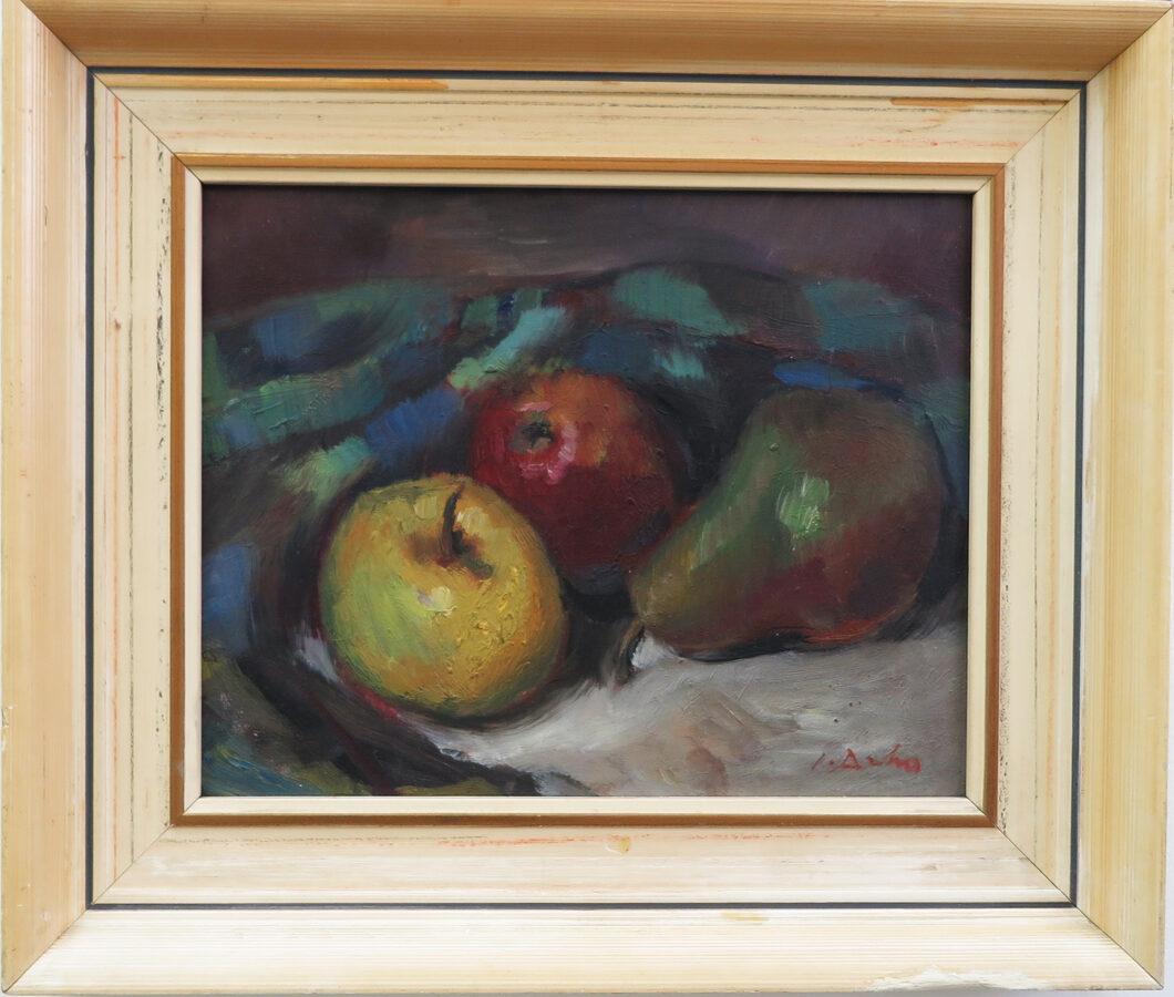 Josef Drha: Zátiší s ovocem