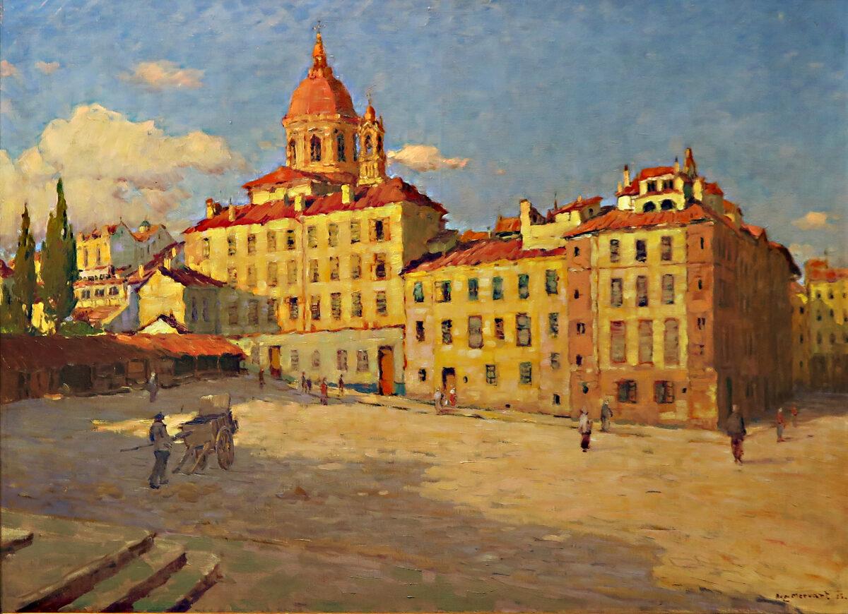 Augustin Mervart: Náměstí di Carmine ve Florencii