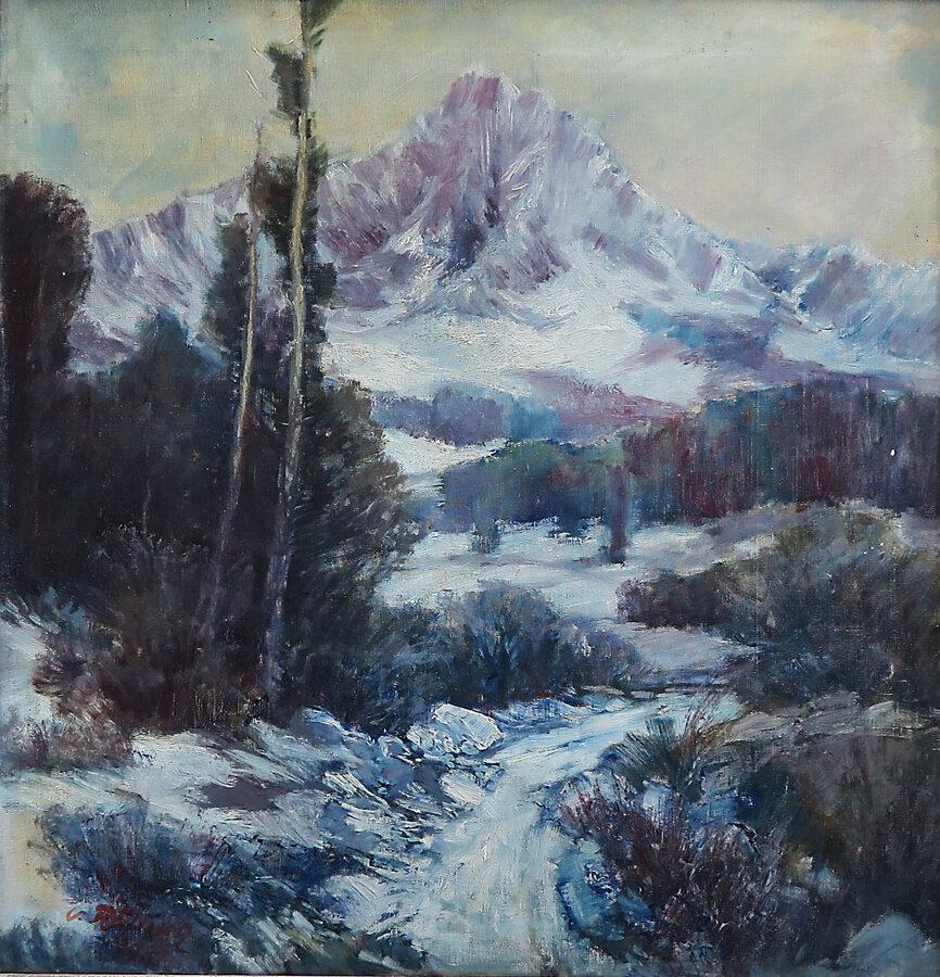 K. Rélink: Horská krajina v zimě