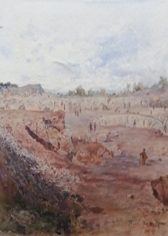 Rudolf Bernt: Povrchový důl Vilmosfeld