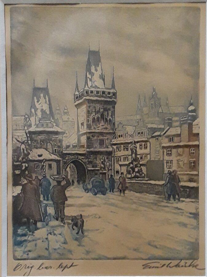 Emil Wänke: Zimní Praha