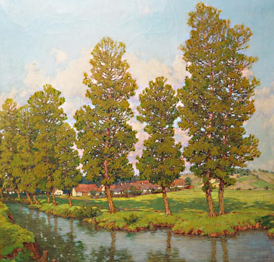 Augustin Mervart: Ves u řeky