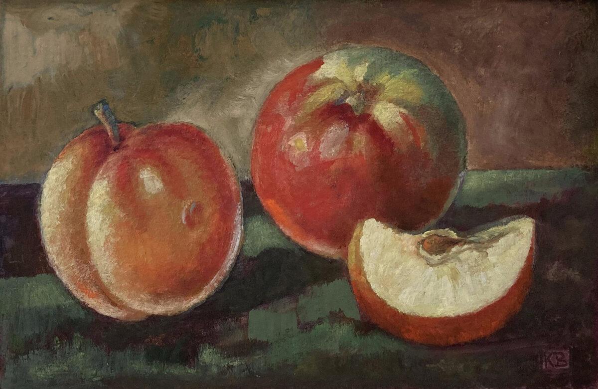 Bronislav Kaleta: Zátiší s jablky