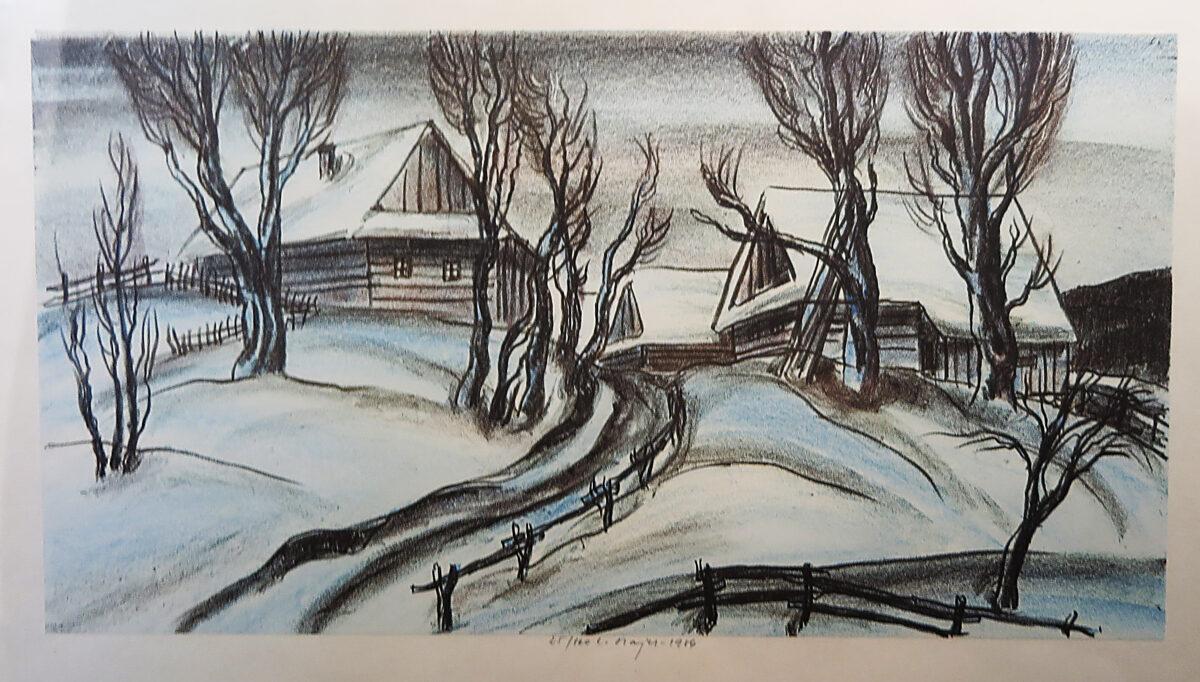 Luděk Majer: Zimní krajina