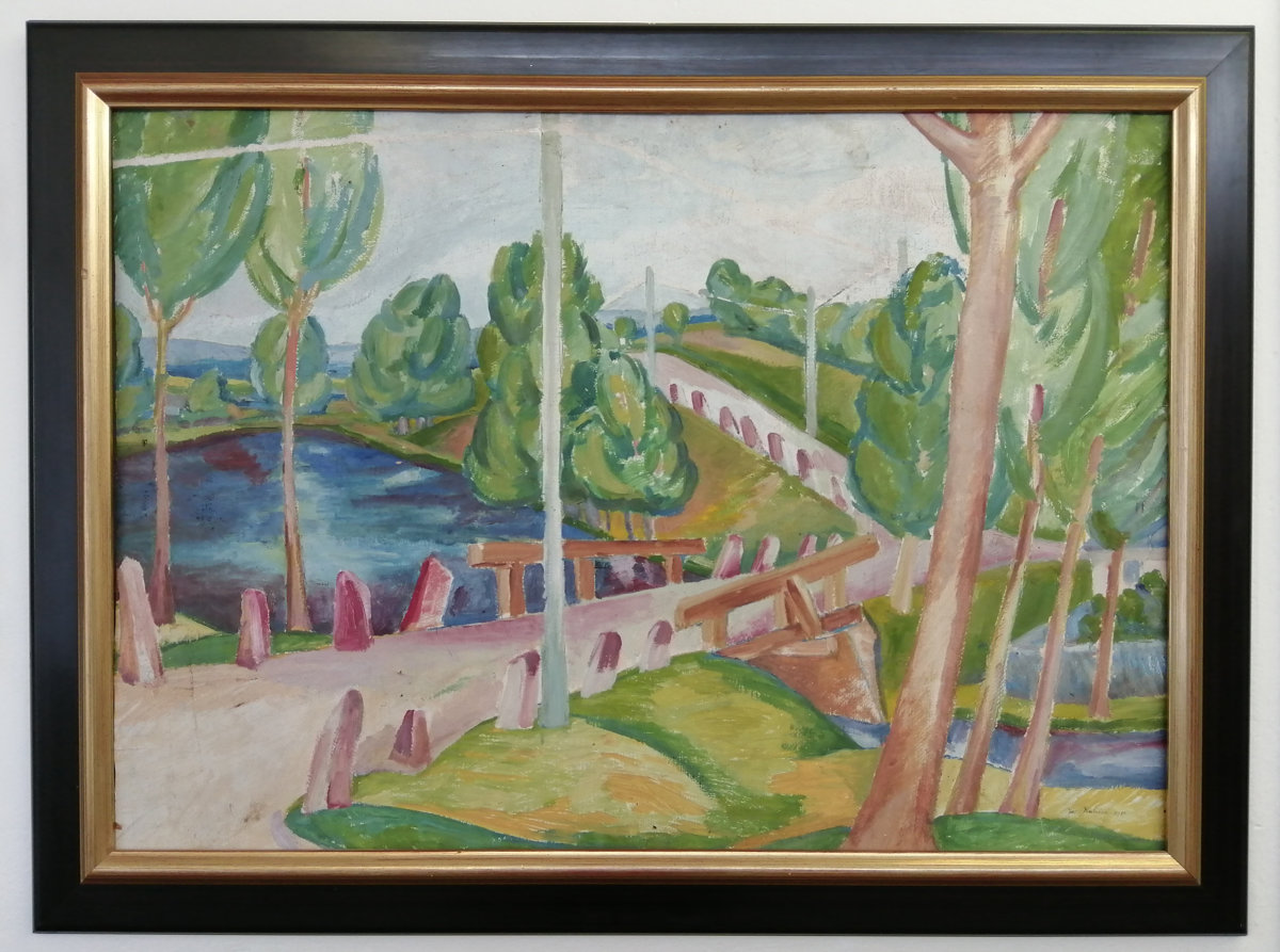 Josef Kubíček: Cesta s mostem