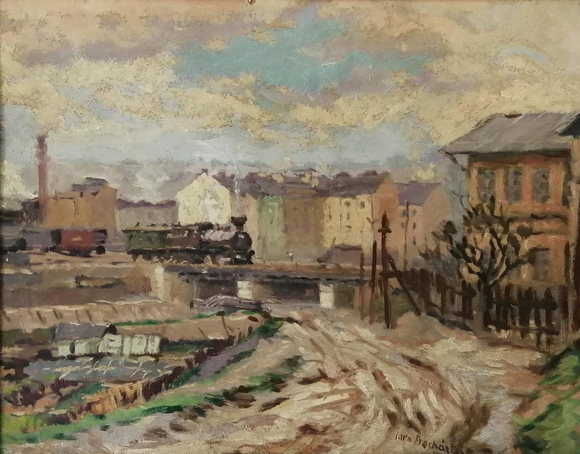 Jaro Procházka: Staré Vršovice, nádraží