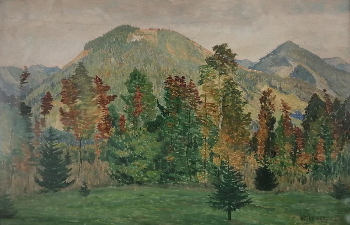 Antonín Hudeček: Krajina