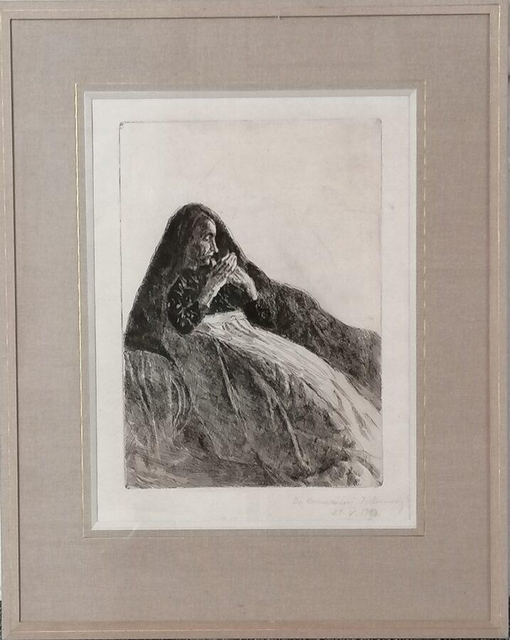 František Ronovský: Španělská žena