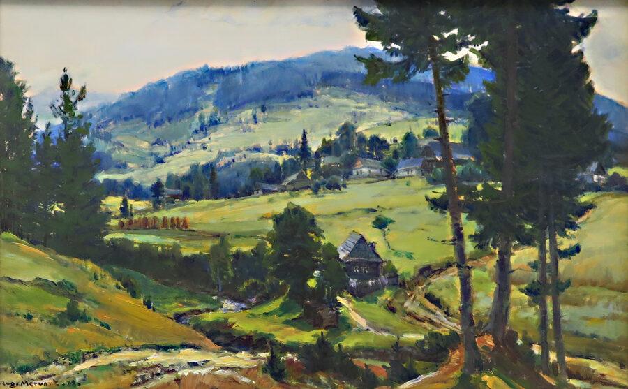 Augustin Mervart: Ostravská Lhota