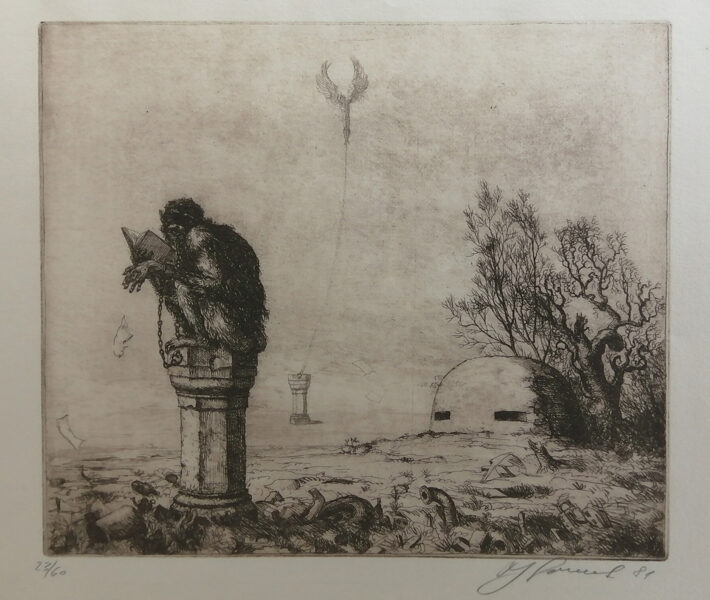 Jan Souček: Ilustrace ke starořeckým bájím