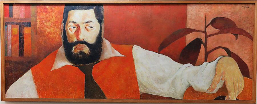 Ota Janeček: Portrét  René Murata