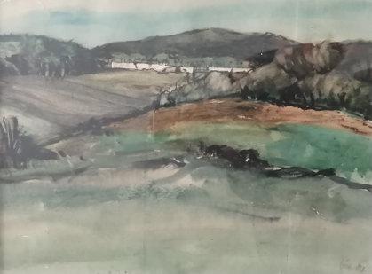 Karel Souček: Krajina