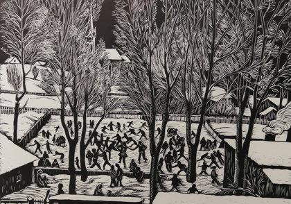 Helena Salichová: Zima v Polance