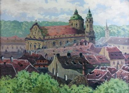 Jaroslav Šimůnek: Chrám svatého Mikuláše v Praze