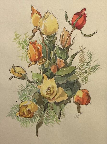 Josef Dobeš: Růže
